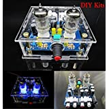 Generic DIY Kits With Case : Newest 6J1 Tube Preamp Amplifier Board Pre-amp Headphone Amp 6J1 Valve Preamp Bile...
