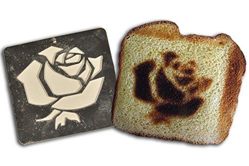 Burnt Impressions Toaster Inserts - Rose lasting impressions 3118rd