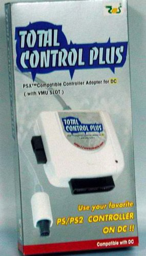 Total control plus ps2 to dreamcast adapter electronics for Total home control