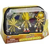 Sonic the Hedgehog - Super Pack - 3 Figurines 7 cm (Import Royaume-Uni)