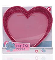 Little Miss Arty Heart Earring Holder