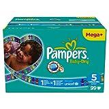 """Pampers Windeln Baby Dry Gr.5 Junior 11-25 kg Megapack, 99 St�ckvon """"Pampers"""""""