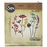 Sizzix 661190 Wildflowers Thinlits Die Set by Tim Holtz (7 Pack)