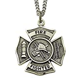 Firemen pendant necklace gift
