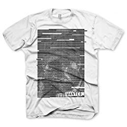Mens Cotton Fabric Gildan Heavy Watch Dogs Wanted Adien Pearce T-Shirt from Watch Dogs