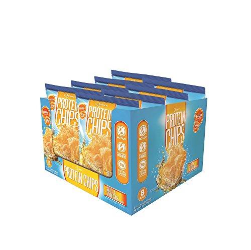 Quest Nutrition Protein Chips, Salt & Vinegar, Pack of 8 (Quest Chip Salt And Vinegar compare prices)