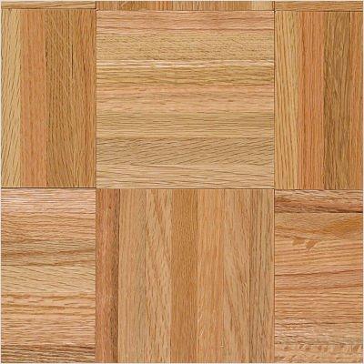 """Urethane Parquet 12"""" x 12"""" x 5/16"""" Solid Oak in Standard"""