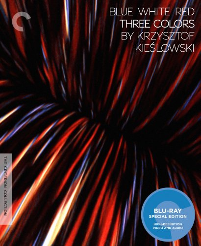 Blu-ray : Blue, White, Red: Three Colors by Krzysztof Kieslowski (Digital Theater System, , Widescreen, 3 Disc)