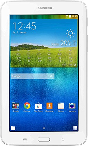Samsung Galaxy TAB 3 7.0 lite SM-T113NDWADBT 17, 78 cm (7 Zoll) Tablet-PC (Quad-Core-Prozessor, 1 GB, Android 4.4) weiß
