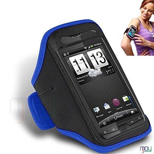 HTC Panache BLU regolabile Ciclo bracciale di ginnastica di sport bike Corsa caso della copertura da jogging Sport Titolare Pouch (BB) IN GIOIA MOBILE