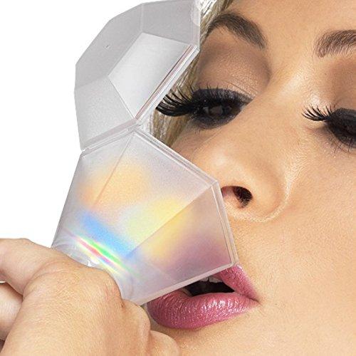 Addio nubilato bicchierini anello lampeggiante diamante di vetro anello da donna anello bicchierino accessori