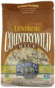Lundberg Countrywild, Gourmet Blend, Whole Grain Brown Rice, 16-Ounce Bags (Pack of 6)