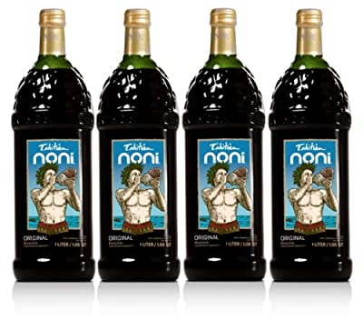 TAHITIAN NONI Juice by Morinda Inc. (4 One Liter Bottles per Case)