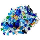 琉球ガラス カレット 虹のかけら サイズ小 10g レジン 封入 材料 アクセサリーパーツ
