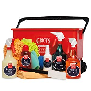 Griot's Garage (11330Z) Ultimate Wash, Wheel and Tire Kit with Bucket - 35 oz. from Griot's Garage