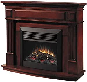 Dimplex Preston Free Standing Electric Fireplace in Cherry