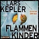Flammenkinder Audiobook by Lars Kepler Narrated by Simon Jäger
