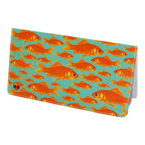 Goldfish Checkbook Cover Apparel Accessories Handbag Wallet Accessories Covers