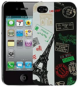 Heartly Flag Printed Design High Quality Hybrid Tough Armor Hard Bumper Back Case Cover For Apple iPhone 5C - France