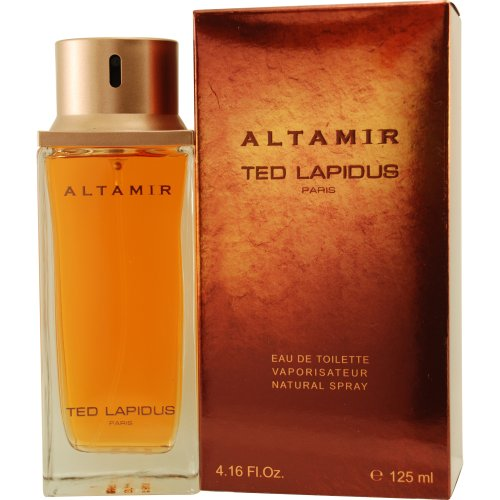 Ted Lapidus Altamira Eau De Toilette Spray for Men, 4.2 Ounce
