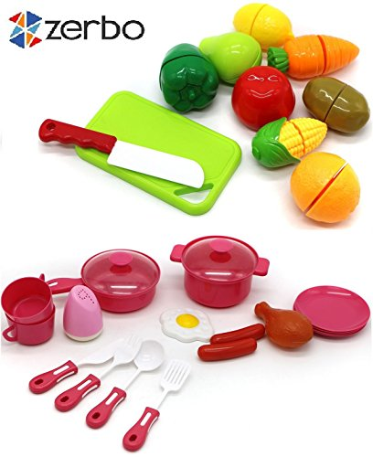 ZERBO-25-Pcs-Toy-Cutting-Velcro-Fruits-Vegetable-Mini-Kitchen-Play-Food-Cooking-and-Serving-Playset