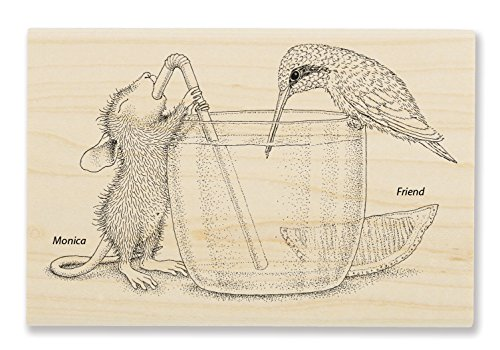 Stampendous Share a Sip Rubber Stamp