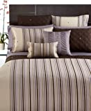 Hotel Collection Quadrus Stripe 400T TWO Standard Shams Spaced Stripe