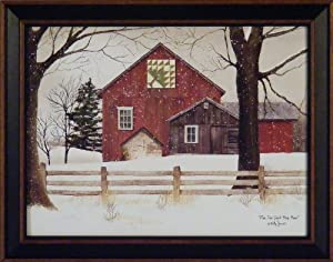 Amazon Com Pine Tree Quilt Block Barn By Billy Jacobs