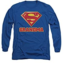 Superman: Super Grandma Long Sleeve T-Shirt