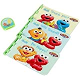 Sesame Street My First Story Reader with 3 Beginnings Interactive Books