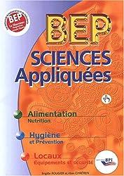 Sciences appliquées BEP. Edition 2002