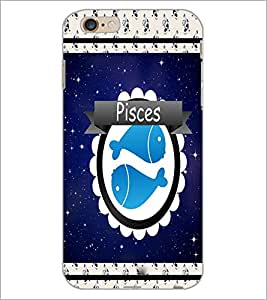 PrintDhaba Zodiac Pisces D-2771 Back Case Cover for APPLE IPHONE 6S (Multi-Coloured)