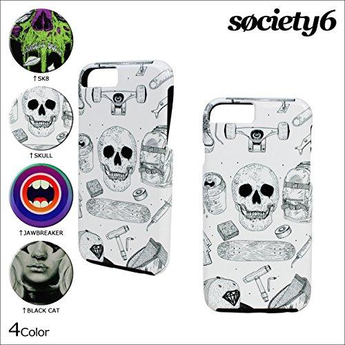 (ソサエティシックス)Society6 iPhone6s ケース iPhone6 スマホ BLACK CAT (並行輸入品)