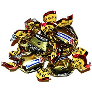 Colombina Coffee Delight Hard Coffee Flavored Candy 5 Pound Bag