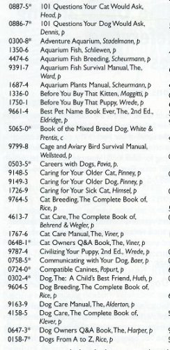 Barrons Books Caring for your Sick Cat