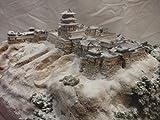 日本100名城・戦国の城 天空の城竹田城  お城 模型 ジオラマ完成品 450mmサイズ (450)