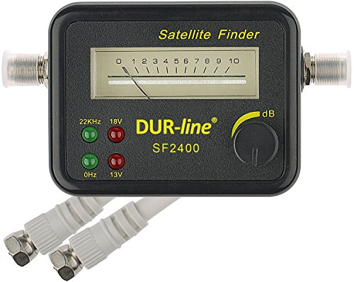 DUR-line® SF 2400 - Satfinder - Messgerät zur exakten...