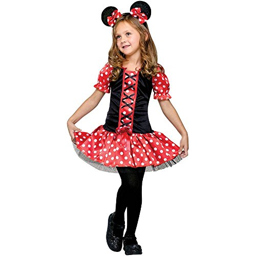 Little Miss Mouse Kids Costume - 4-6