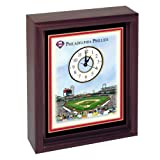 Philadelphia Phillies Citizens Bank Ballpark Stadium Colorprint Desk Clock