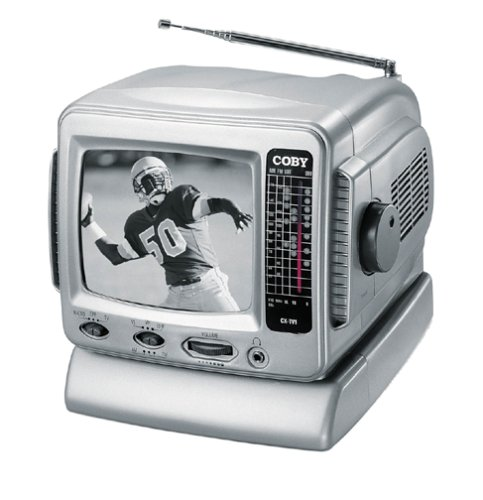 Coby-CX-TV1-5-Black-and-White-TV-with-AMFM-Tuner