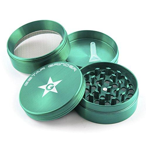 GSTAR-2-4-Stage-Tobacco-Herb-Grinder-Green