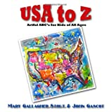 img - for USA to Z: Artful ABC's for Kids of All Ages book / textbook / text book