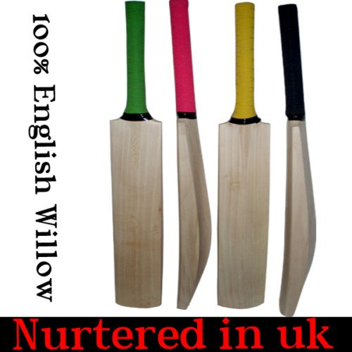 New plain Genuine English Willow cricket bat 2.10lb