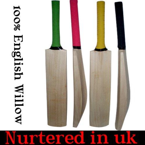 New plain Genuine English Willow cricket bat 2.10lb