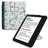 WALNEW Amazon Kindle Oasis用折り紙カバー キンドルオアシススタンドケース 自然の絵 素材クリア 最も薄く、最軽量の保護 レザーケース スタンドとマグネット機能搭載 プレセール商品, ナチュラルブック