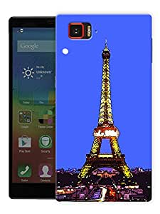 """Paris Eiffel Tower View Printed Designer Mobile Back Cover For """"Lenovo Vibe Z2 Pro K920"""" By Humor Gang (3D, Matte Finish, Premium Quality, Protective Snap On Slim Hard Phone Case, Multi Color)"""