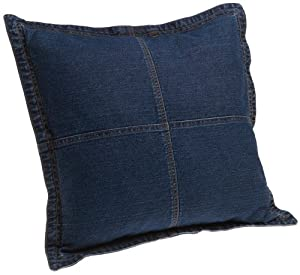 Tommy Hilfiger Decorative Bed Pillows : Amazon.com - Tommy Hilfiger All American Denim 16-Inch Square Decorative Pillow(Old Pattern ...