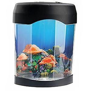 elektronische led schwimmen quallen stimmung nacht lampe aquarium tank elektronik. Black Bedroom Furniture Sets. Home Design Ideas
