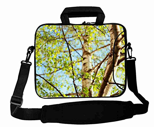 Fashionable Designed ( Nature birch branch sky summer ) Laptop Bag Good For Girl's (15