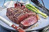 Tramontina Micro Serrated Scalloped Steak Knives, 4-Piece Set